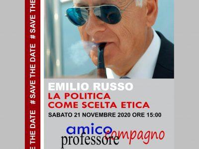 Emilio Russo – La politica come scelta etica