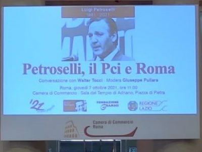 Cento anni del PCI – Petroselli, Il Pci e Roma.